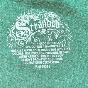 "Green ""The Rosewood Tavern"" vNeck Juniors Tee, NWT"